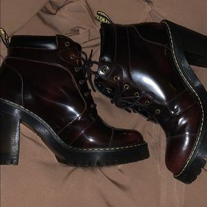 Doc Martens Averil style boot. W10. Hardly worn.